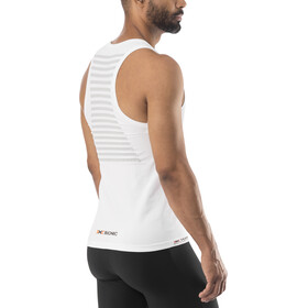 X-Bionic Speed Running Singlet Men White/Pearl Grey